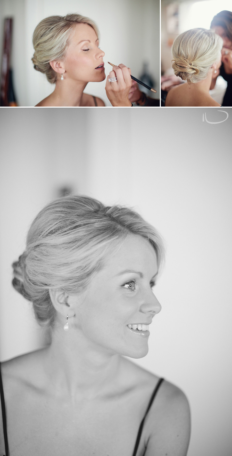 Northern Beaches Wedding Photographer: Bride getting ready