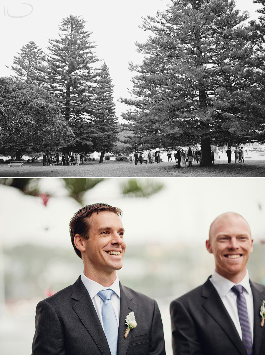 Northern Beaches Wedding Photographers: Clontarf reserve ceremony