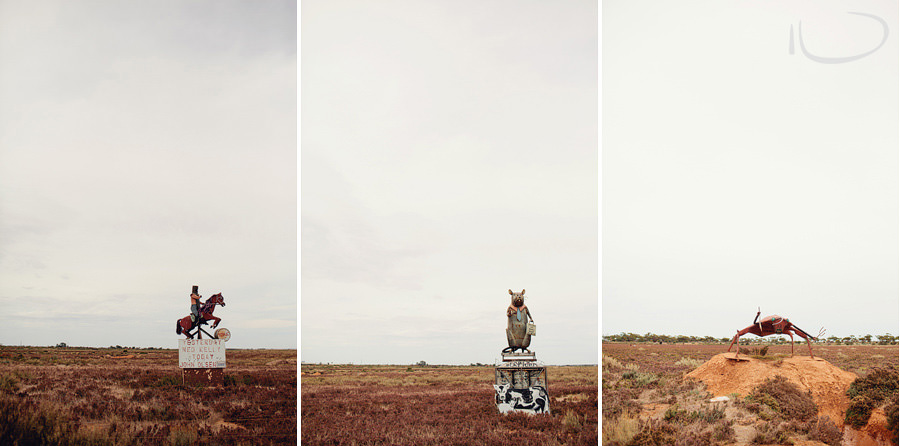 South Australia Photography: Weird Sculptures by the side of the road