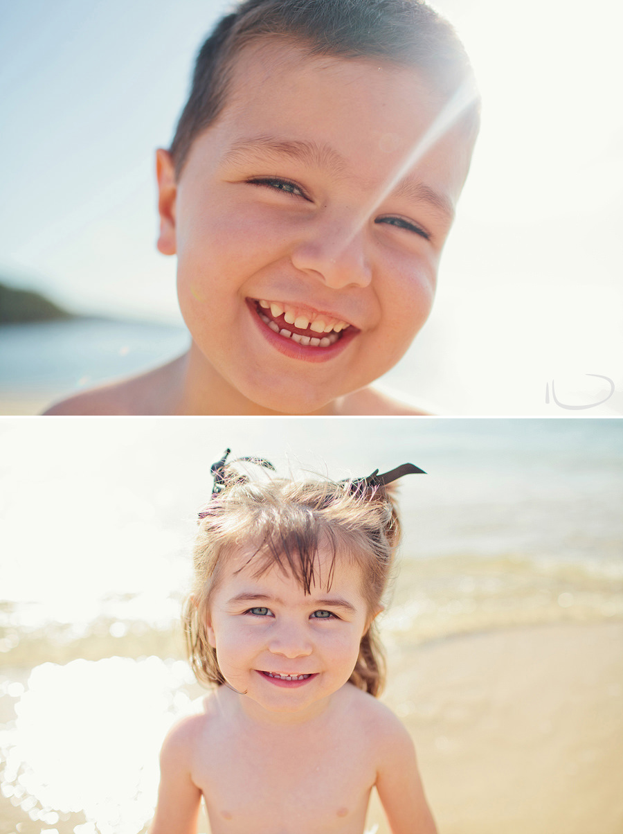Sydney Child Photographer: Child portraits at beach