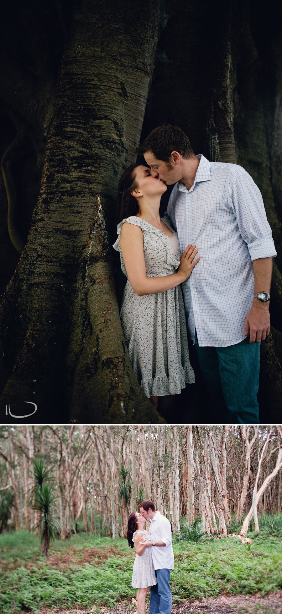Sydney Engagement Photographer: Engaged couple in Centennial Park