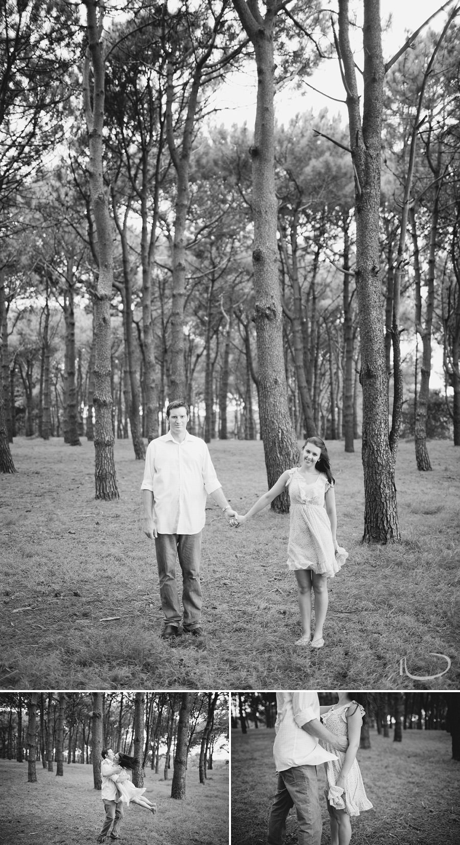 Sydney Engagement Photography: Couple holding hands