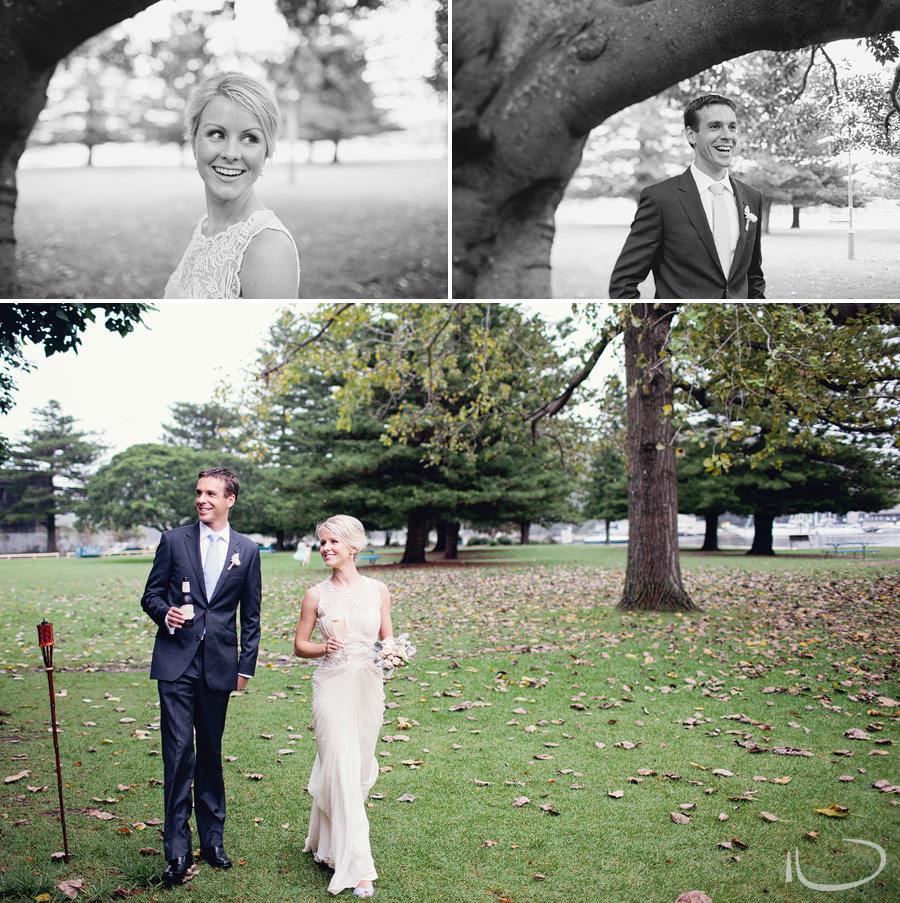 Sydney Wedding Photographer: Bride & Groom entering reception