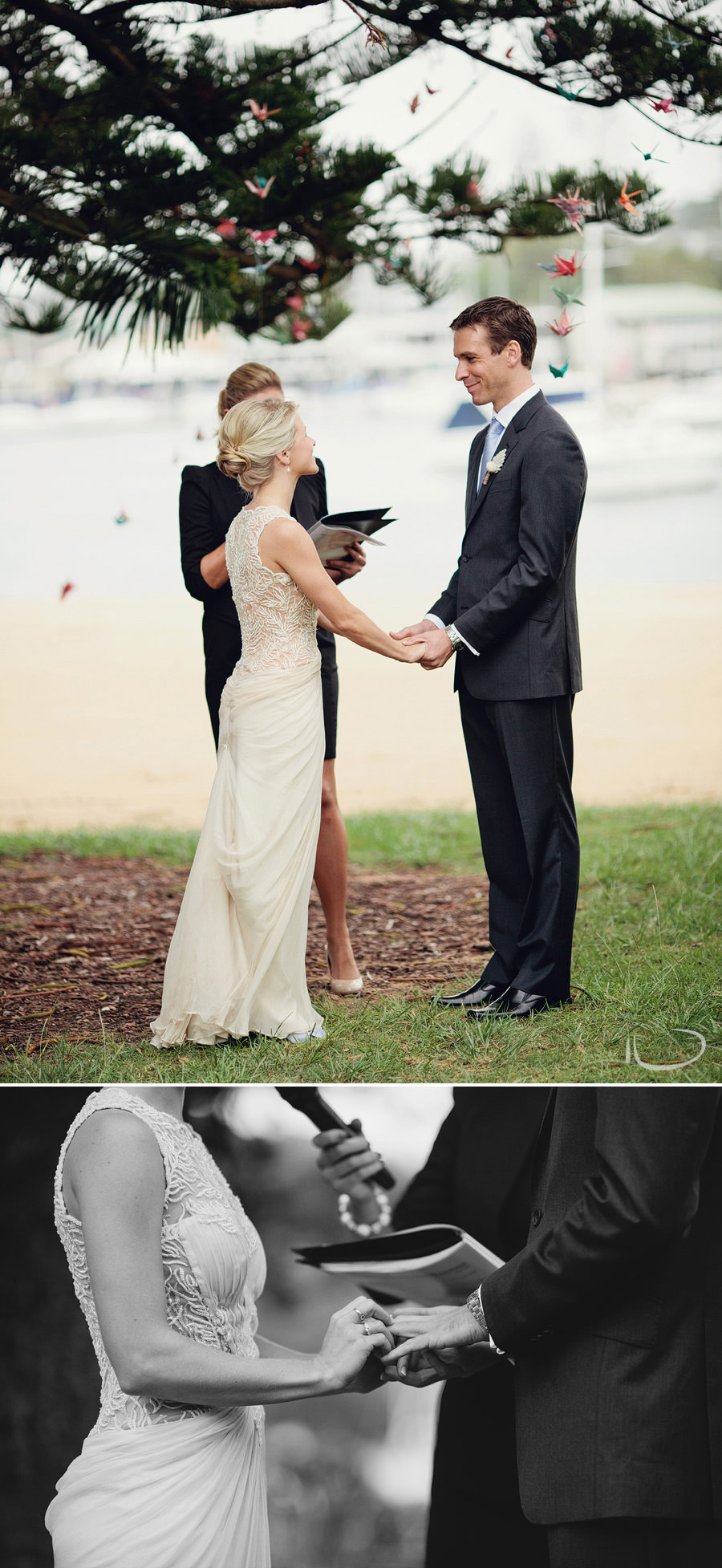 Sydney Wedding Photographers: Vows & exchange of rings