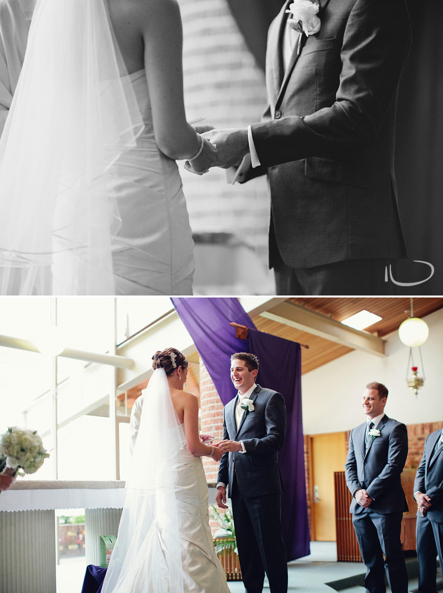 Wedding Photographer Canberra: Exchange of rings
