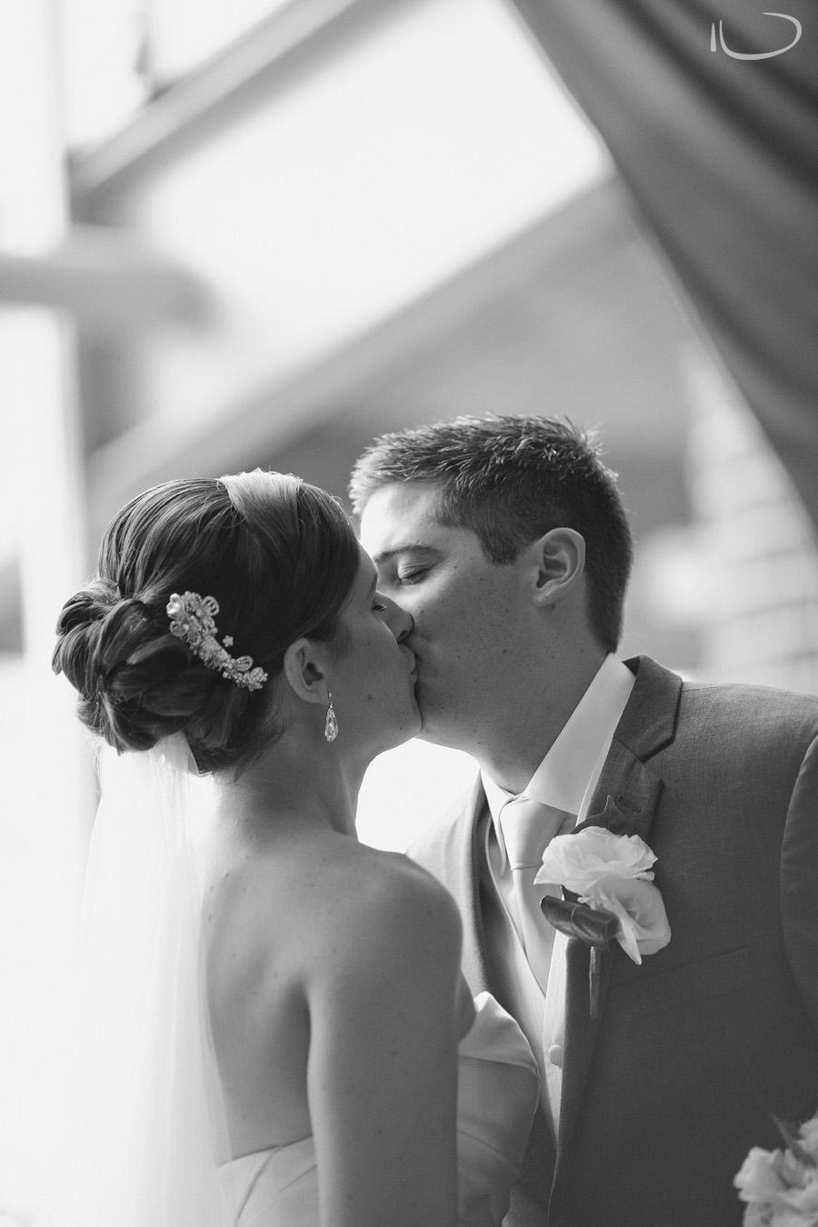 Wedding Photographer Canberra: First kiss