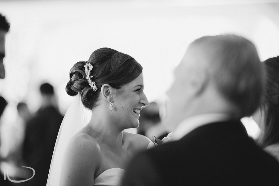 Wedding Photography Canberra: Bride after ceremony
