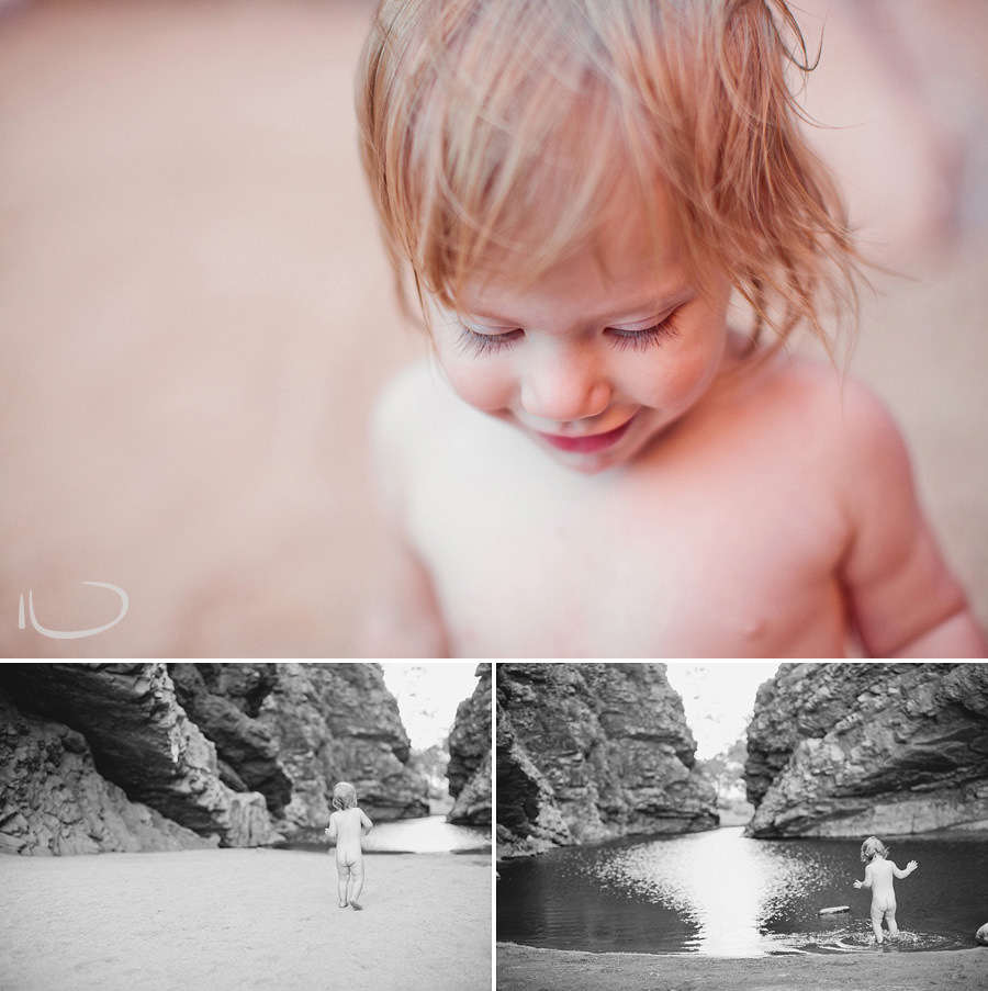 Alice Springs Child Photography: Toddler in Simpsons Gap