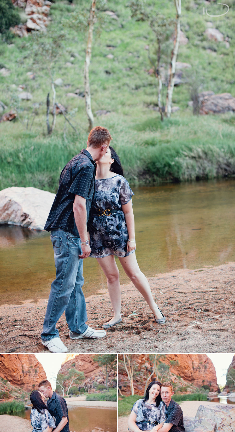 Alice Springs Wedding Photographer: Engagement session