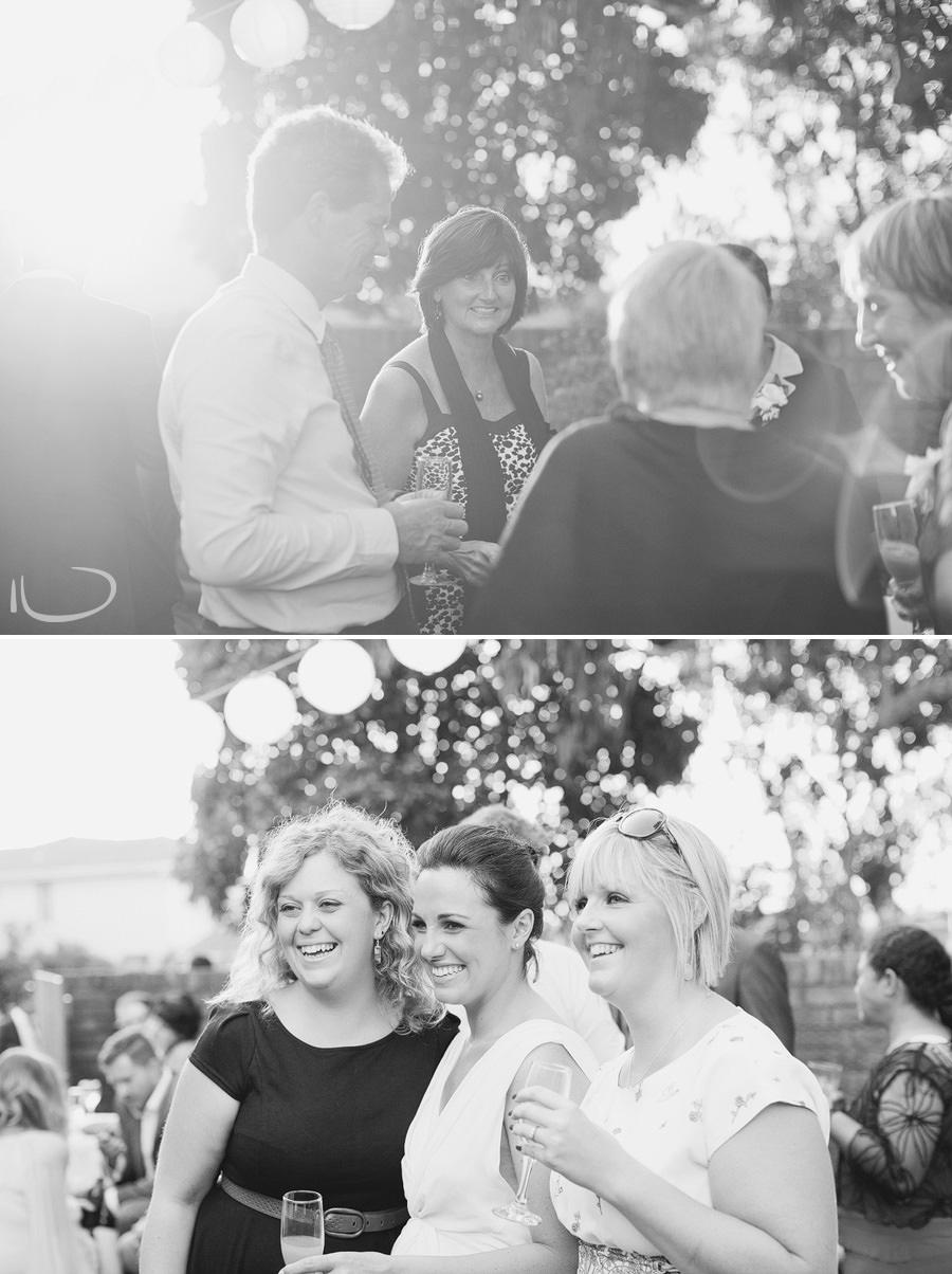 Candid Wedding Photography: Cocktail wedding reception