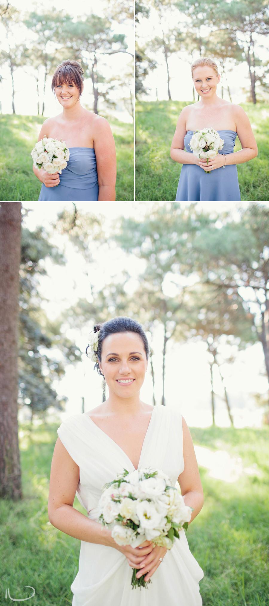 Centennial Park Wedding Photographers: Bride & Bridesmaids