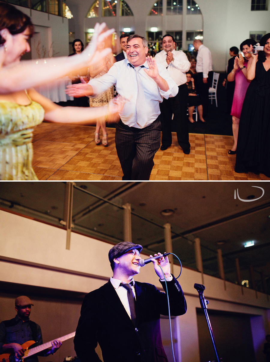 Crystal Ballroom Wedding Photographers: Wedding dancefloor
