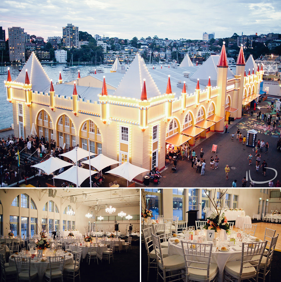 Crystal Palace Wedding Photographer: Luna Park Crystal Ballroom
