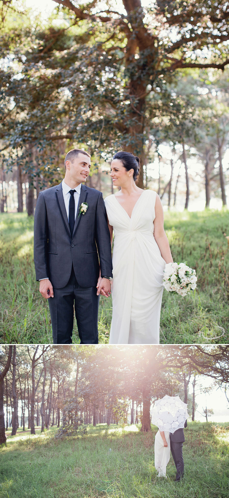 Elegant Wedding Photographers: Centennial Park Sydney location portraits
