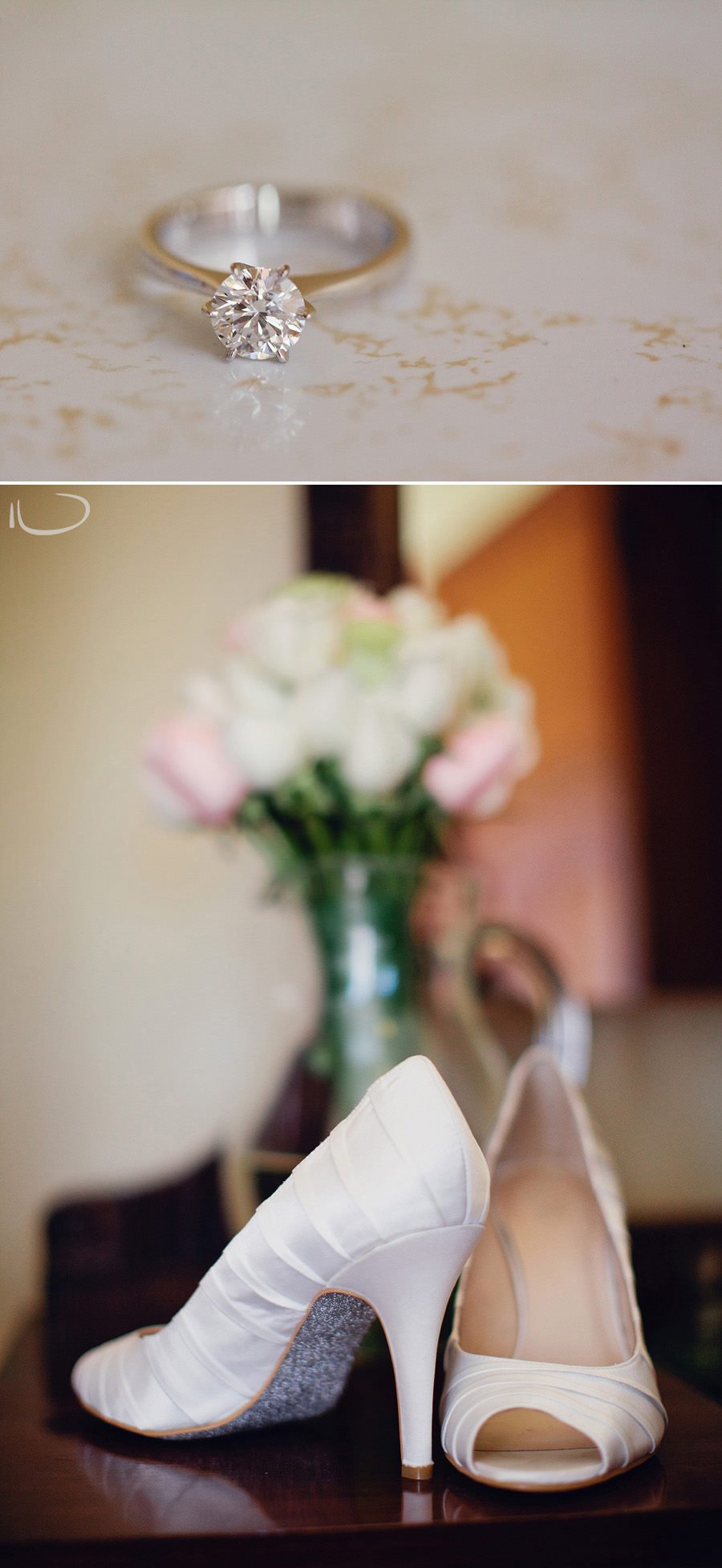 Glen Davis Boutique Hotel Wedding Photographers: Bride's shoes