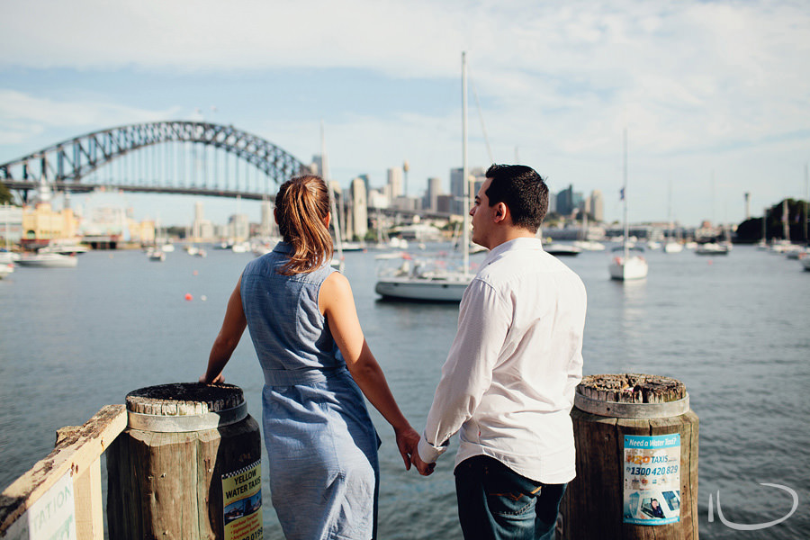 Lavender Bay Engagement Photographers: Sydney Harbour Pre-Wedding