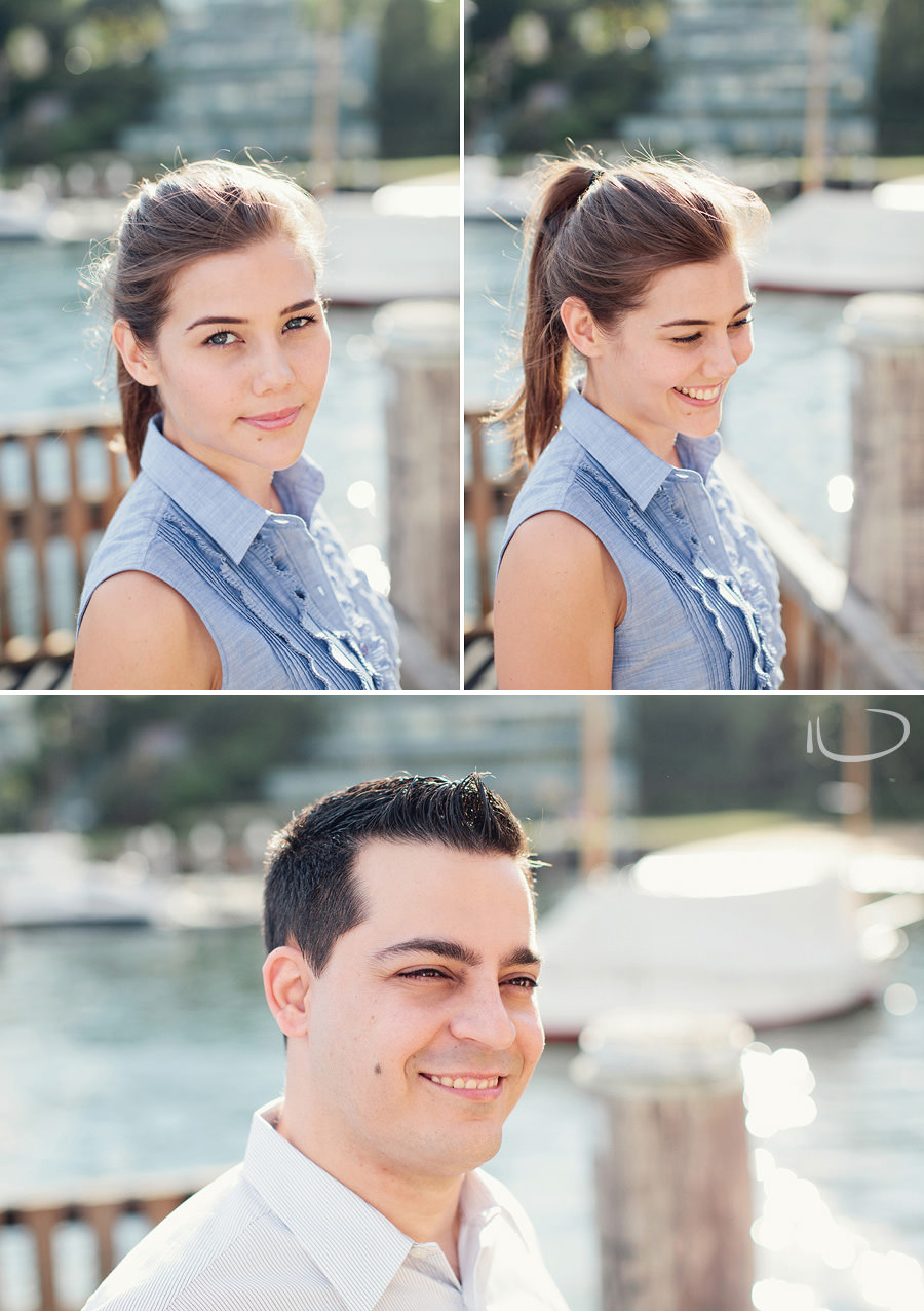 Lavender Bay Engagement Photography: Individual Portraits