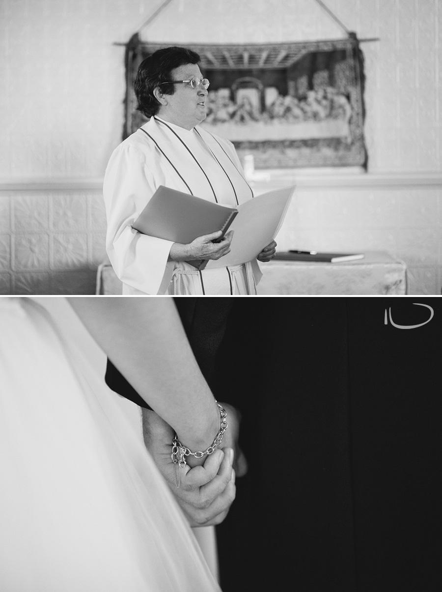 Lithgow Wedding Photographer: Bride & Groom holding hands