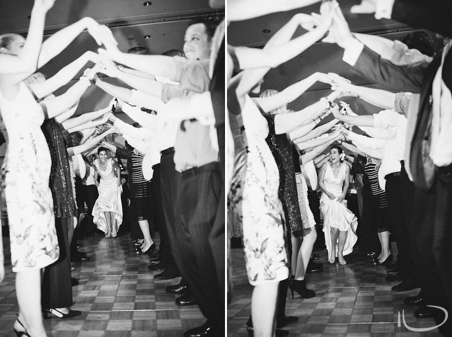 Luna Park Sydney Wedding Photography: Farewell arch
