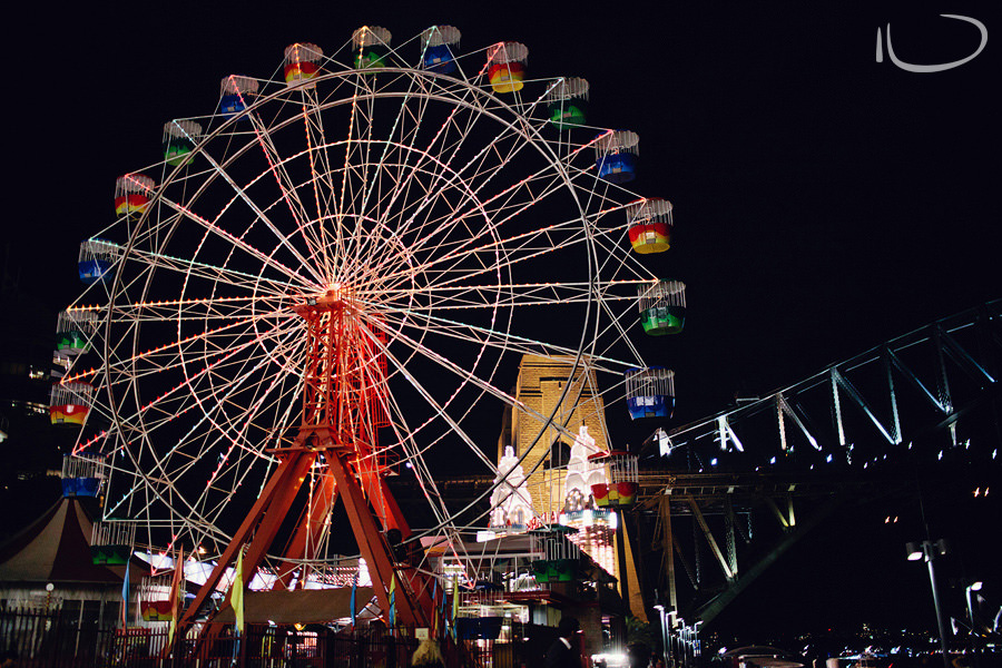 Luna Park Wedding Photographer: Ferris wheel