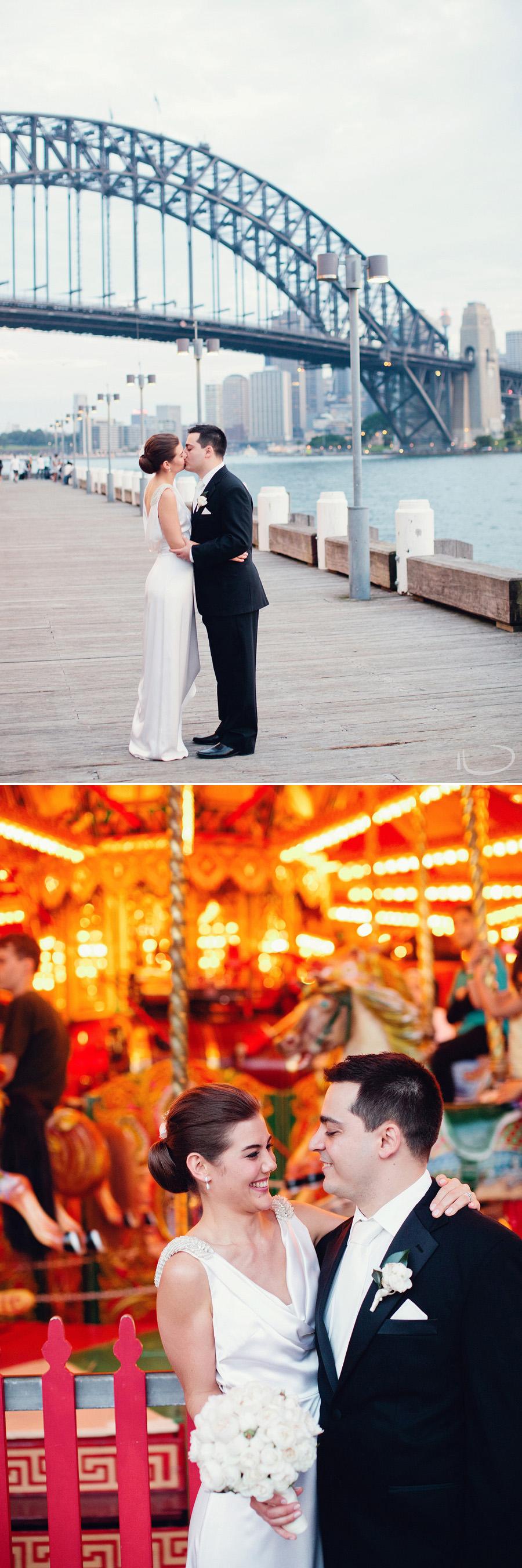 Luna Park Wedding Photographers: Bride & Groom