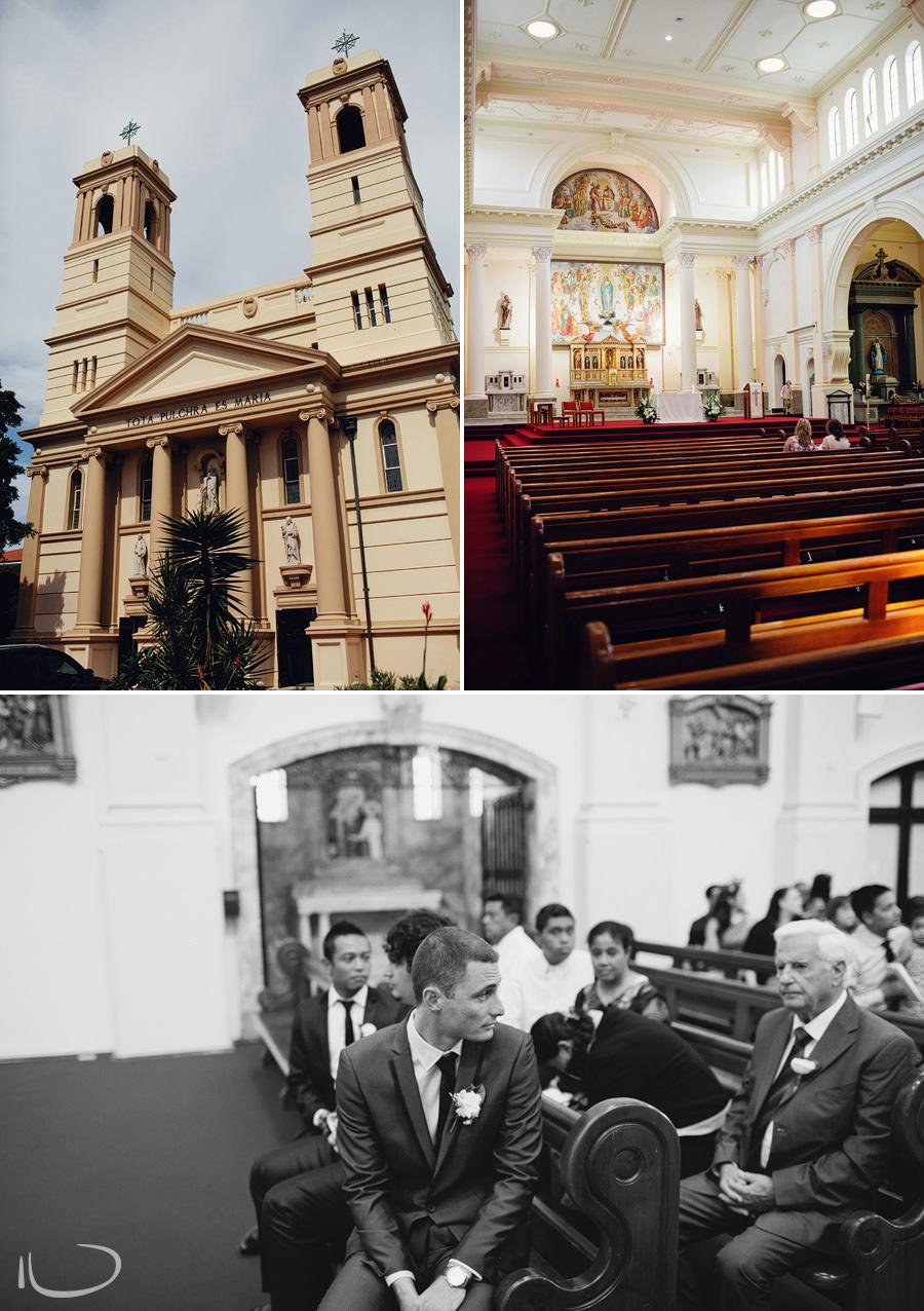 Mary Immaculate Waverly Wedding Photographer: Church ceremony