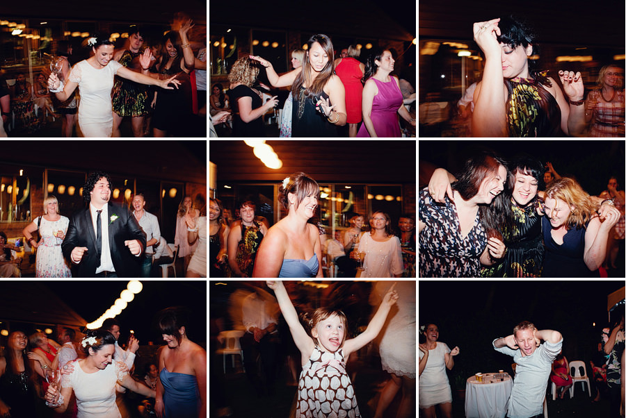 Modern Sydney Wedding Photography: Wedding dancing