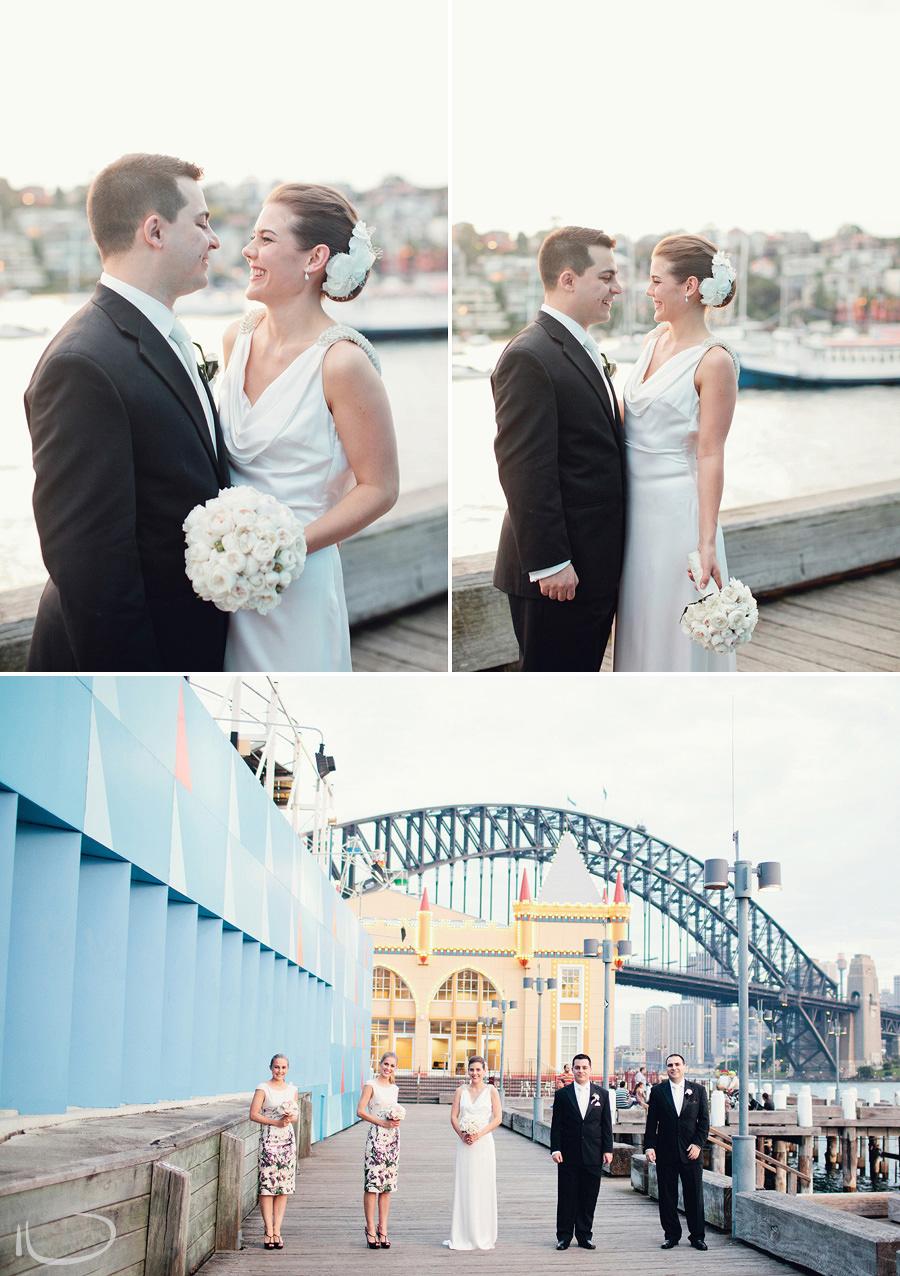 Modern Wedding Photographer: Bridal party portrait