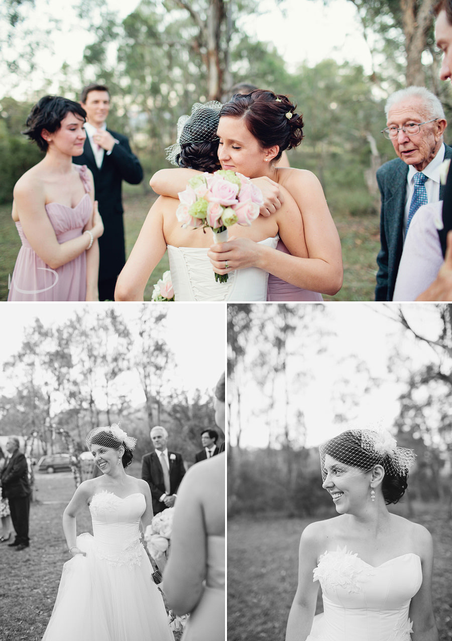 Mudgee Wedding Photographers: Bride after ceremony