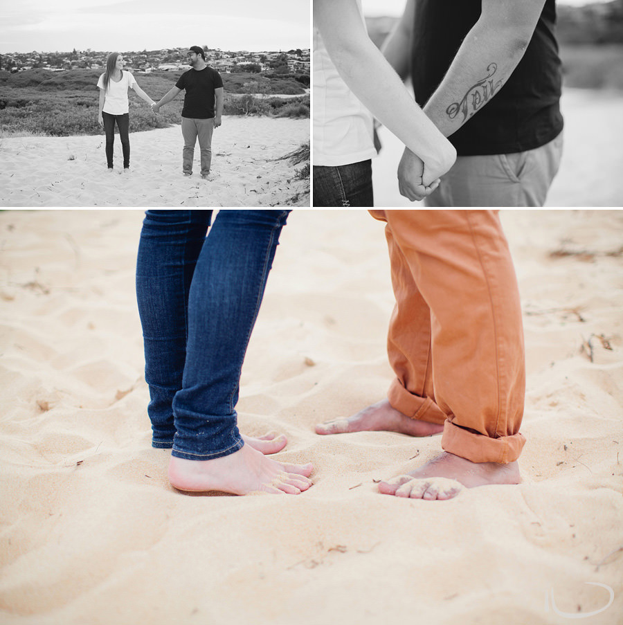 Northern Beaches Engagement Photographers: Pre Wedding Session at the beach
