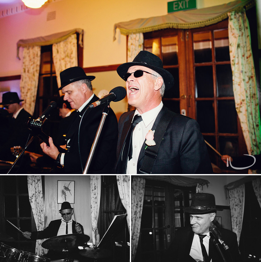 Orange Wedding Photographers: Blues Brothers Wedding Band