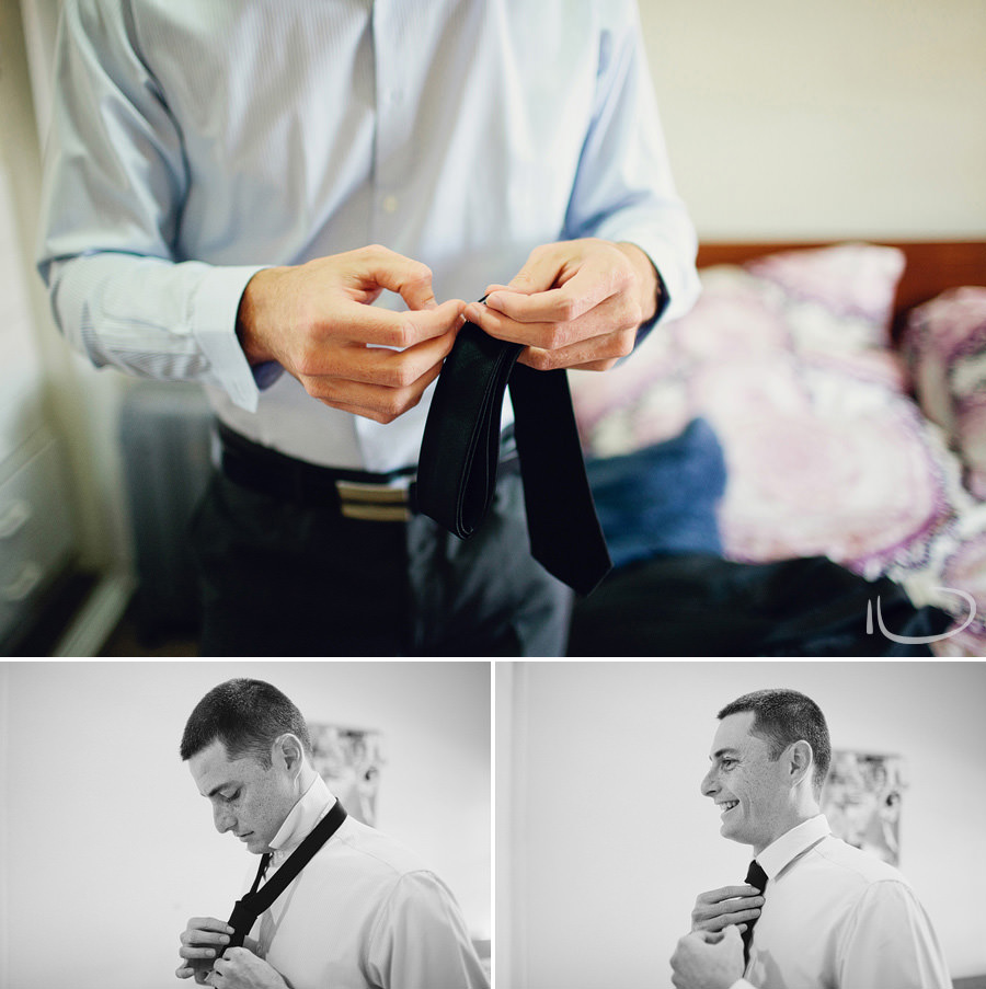 Sydney Wedding Photographers: Groom getting ready