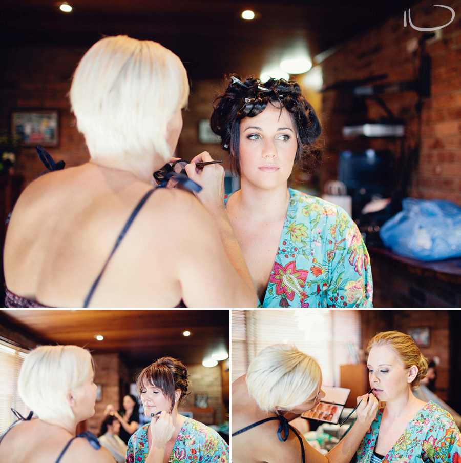 Wedding Photographer Sydney: Bride & Bridemaid Make Up By Megan