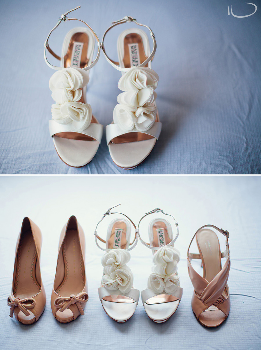 Wedding Photography Sydney: Badgley Mischka bridal shoes