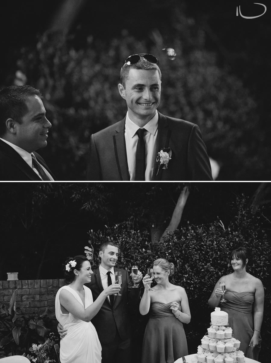 Wedding Photojournalism Sydney: Bridal party toast