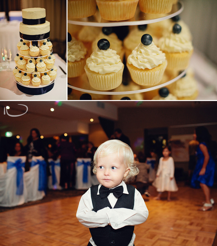 Bayview Golf Club Wedding Photographers: Cupcake wedding cake
