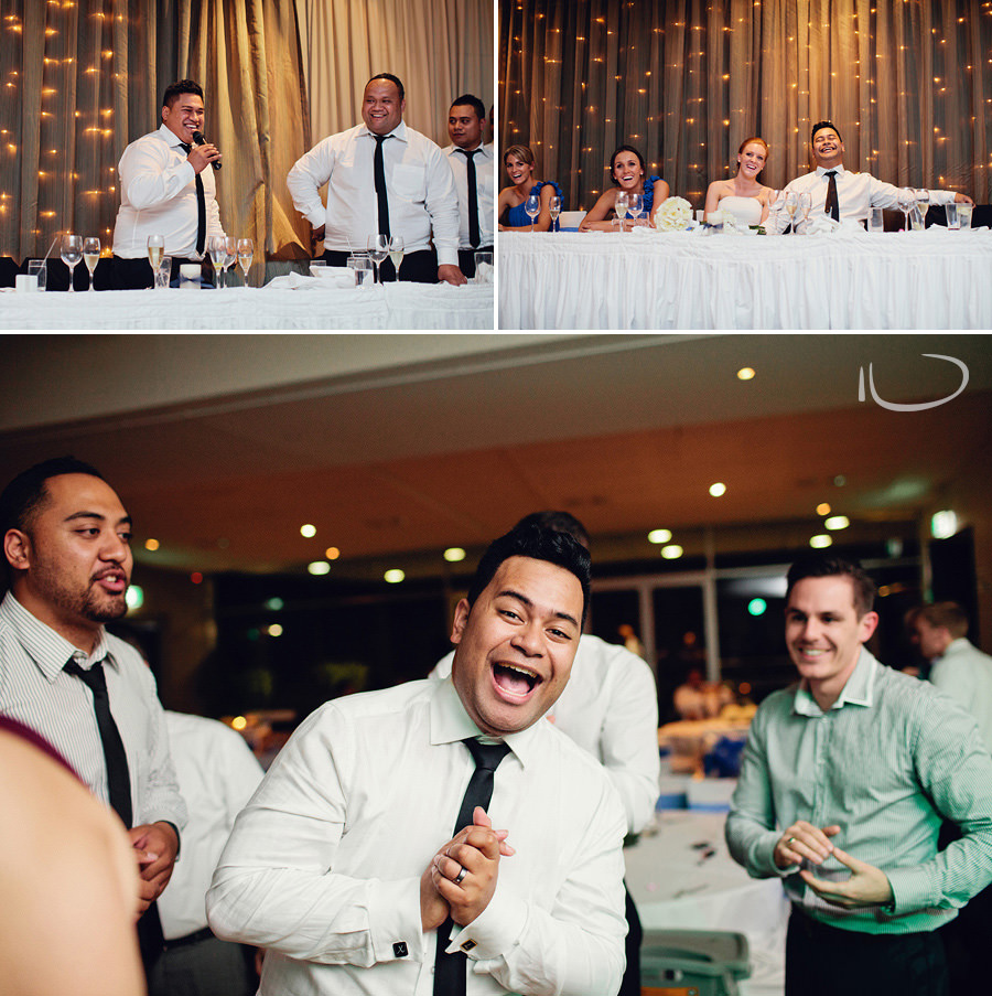 Bayview Golf Club Wedding Photography : Reception speeches & dancing