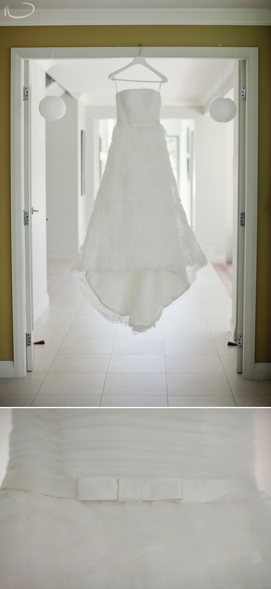 Bayview Wedding Photographers: Bride's dress