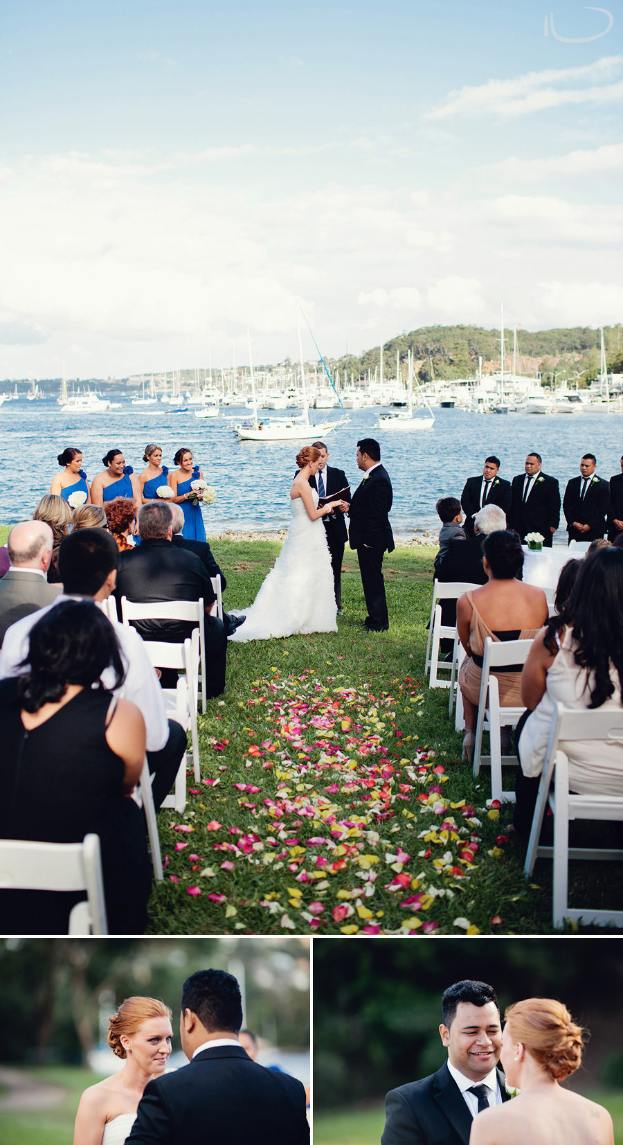 Manly Wedding Photography: Ceremony at Ellery's Punt Reserve Seaforth