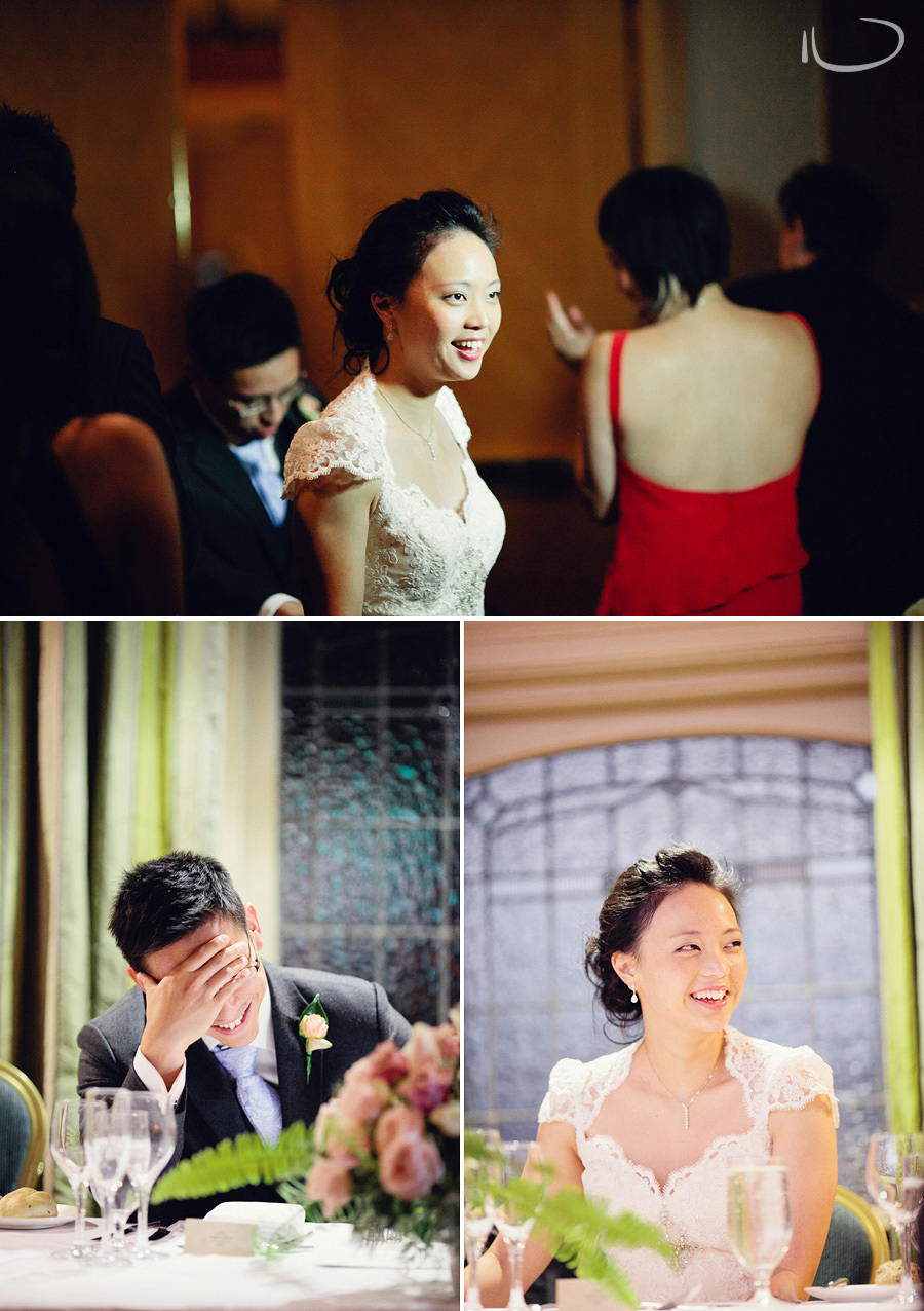 Marriot International Hotel Wedding Photographers: Bride & Groom during reception