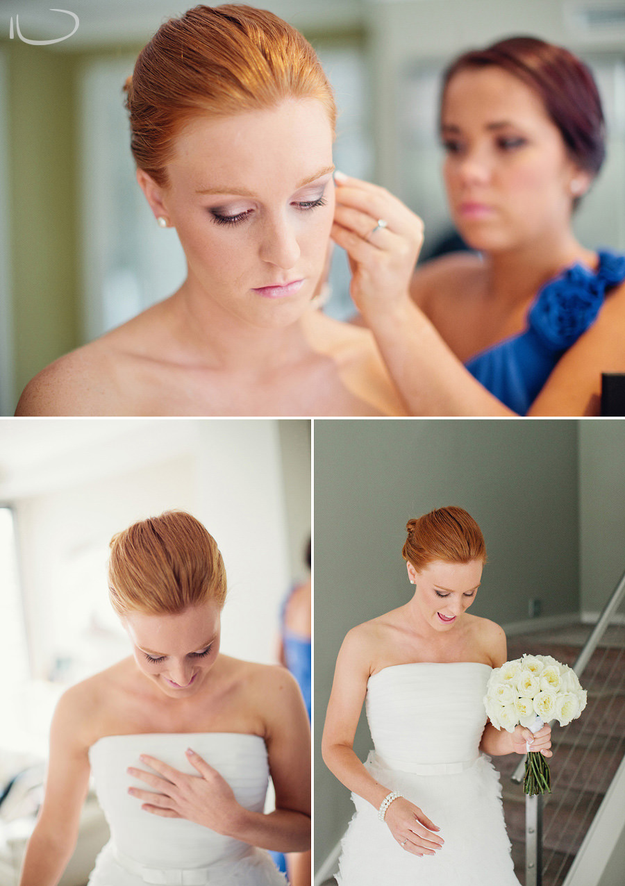 Mona Vale Wedding Photographers: Bride getting dressed