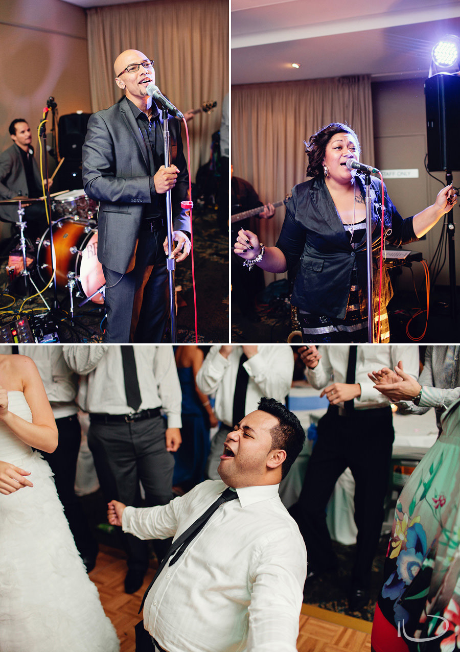 Mona Vale Wedding Photography: Brown Sugar wedding band