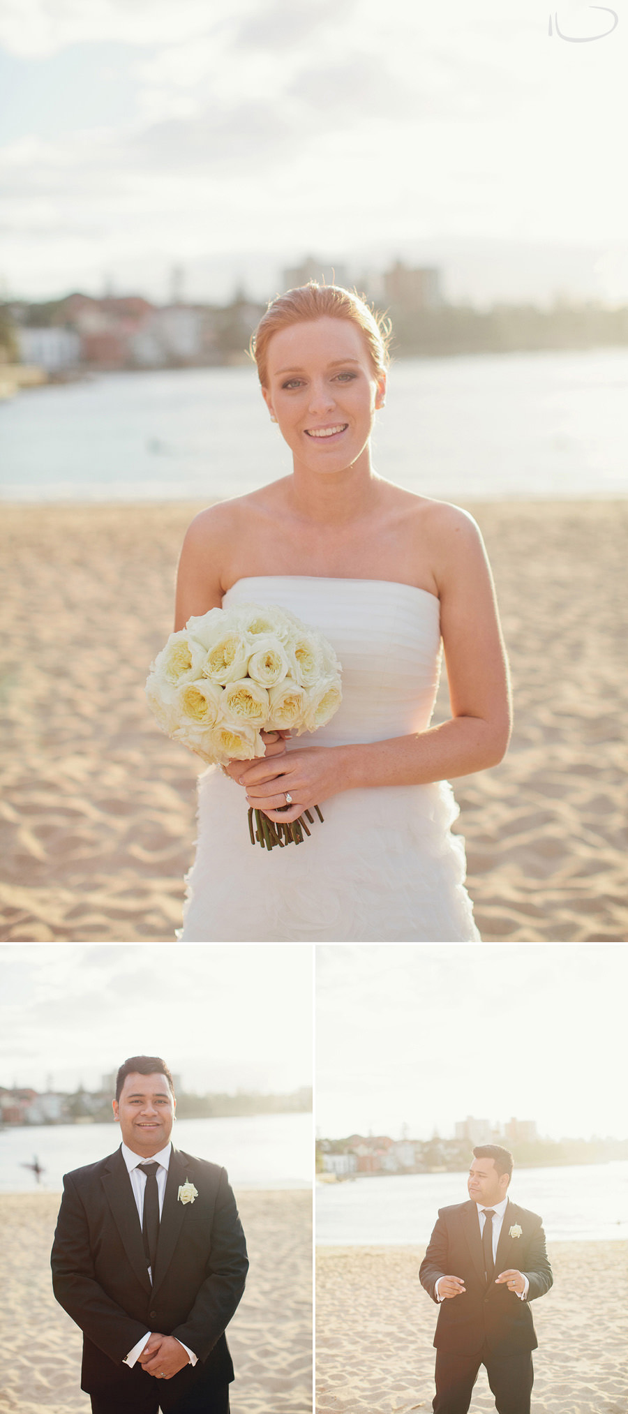 Northern Beaches Wedding Photographers: Bridal portrait