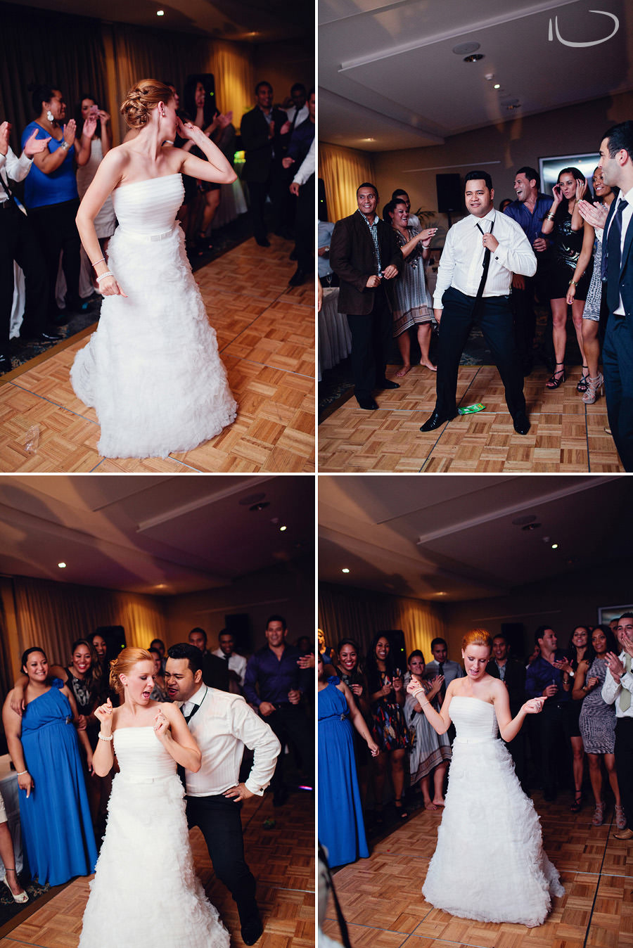 Northern Beaches Wedding Photography: Bride & Groom dancing