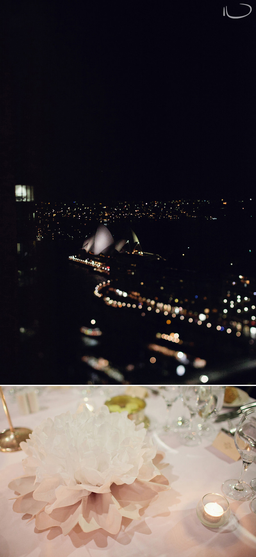 Sydney Wedding Photographers: Opera House view from Hotel