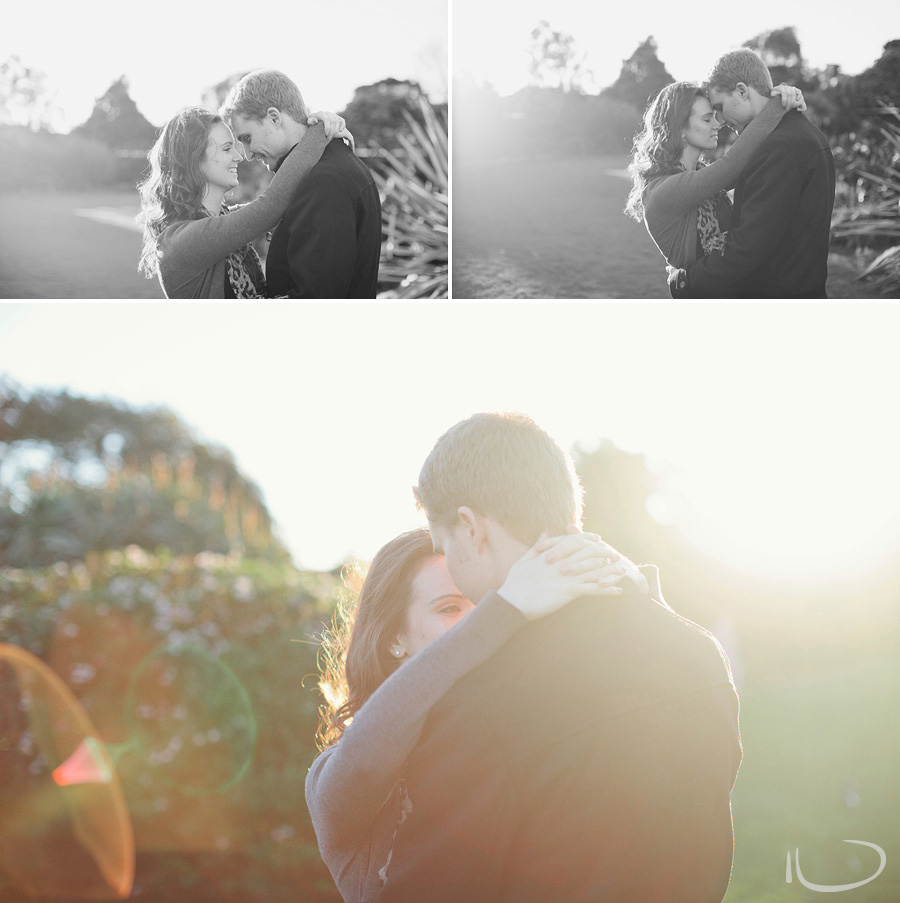 Centennial Park Engagement Photographer: Relaxed couple portraits
