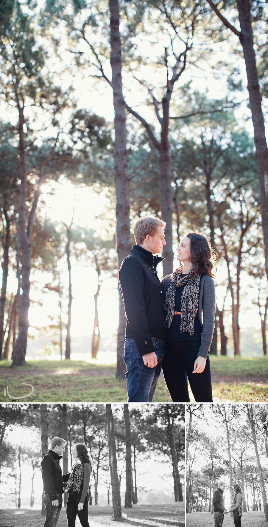 Sydney Engagement Photographer: Todd & Louise in Centennial Park