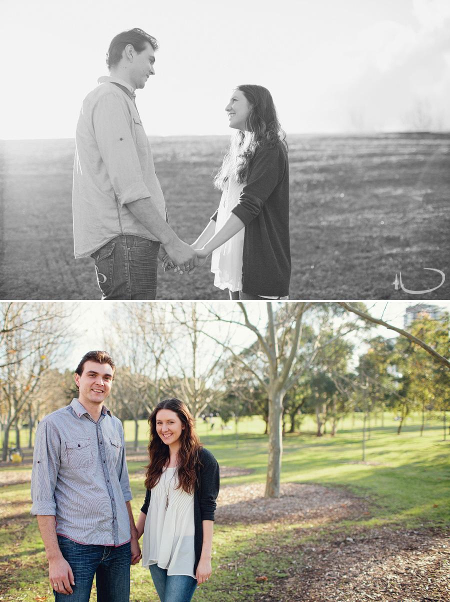 Bicentennial Park Engagement Photographer: Miah & Dave