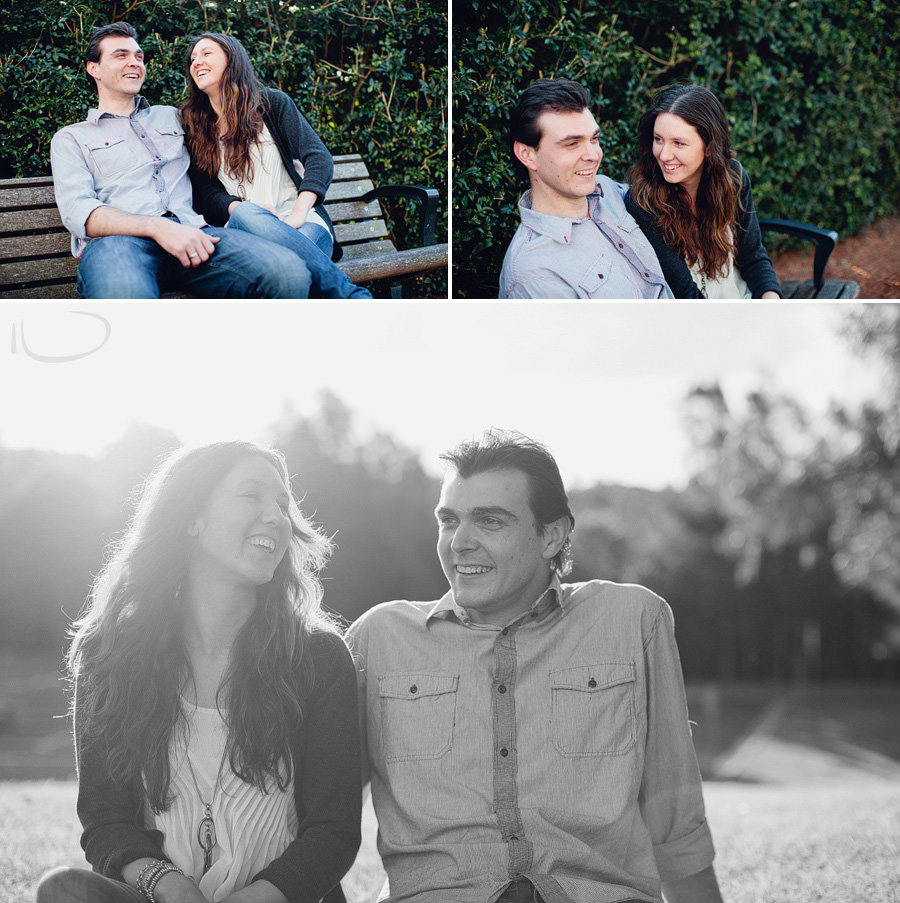 Bicentennial Park Engagement Photographers: Couple portraits