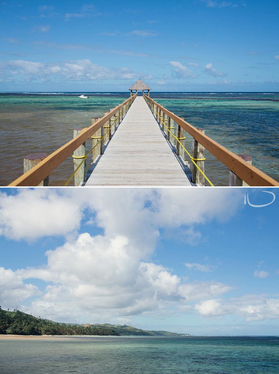 Fiji Travel Photography: Maui Bay Jetty